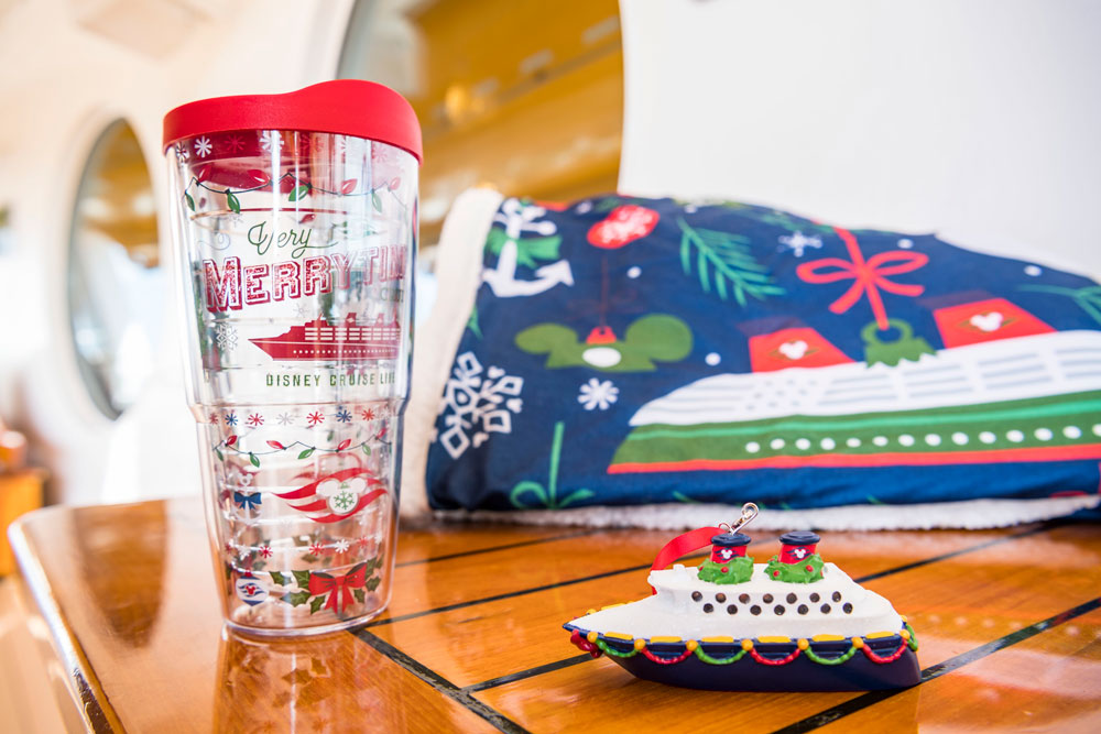 Get in the Holiday Spirit with Exclusive Disney Cruise Line Merchandise