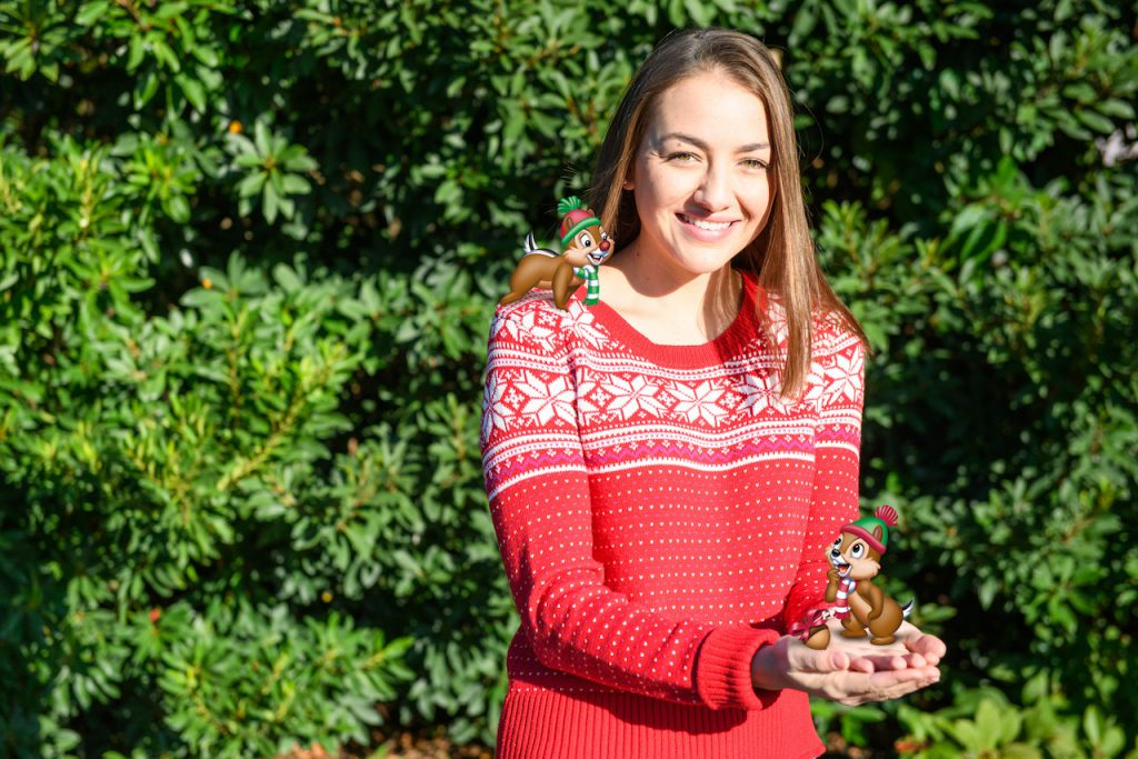 Holiday Photo Ops by Disney PhotoPass at Epcot