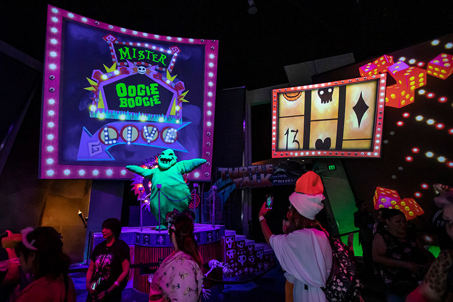 Oogie Boogie Bash – A Disney Halloween Party debuted at Disney California Adventure park