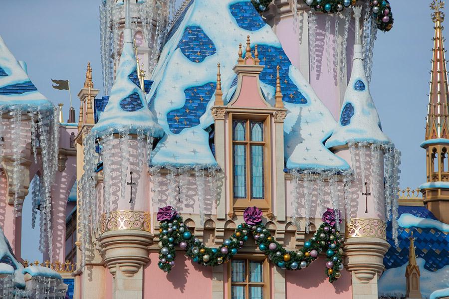 Look Closer: Sleeping Beauty's Winter Castle at Disneyland Park