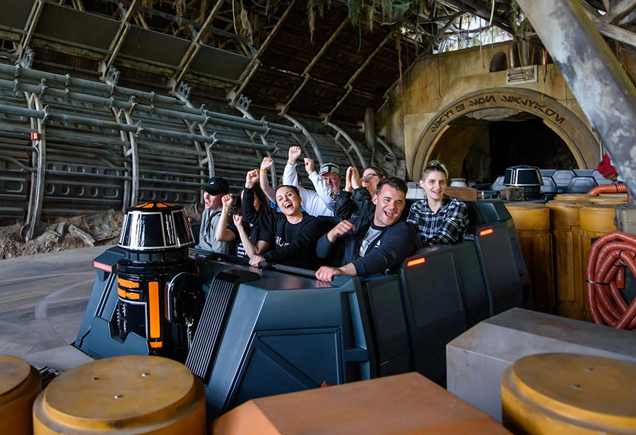 Guests React to Experiencing Star Wars: Rise of the Resistance at Disney's Hollywood Studios