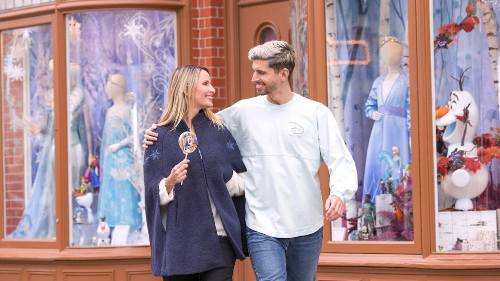 Behind-The-Scenes of the Disneyland Paris 'Frozen' Collection
