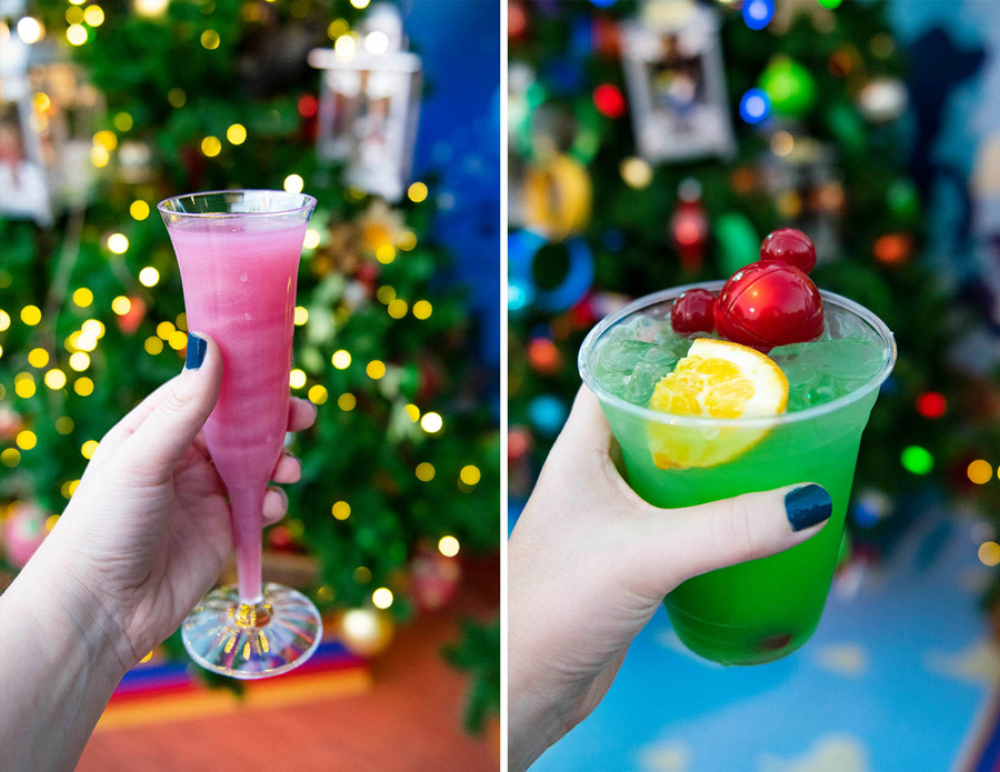 Holiday spirits at the Egg Noggery at Disney Springs