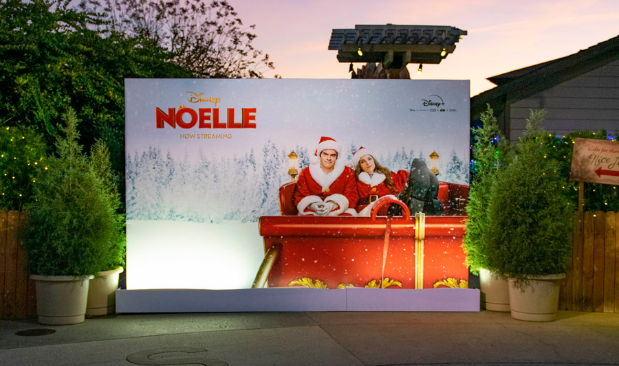 "Disney+ ""Noelle"" photo opportunity at Disney Springs"