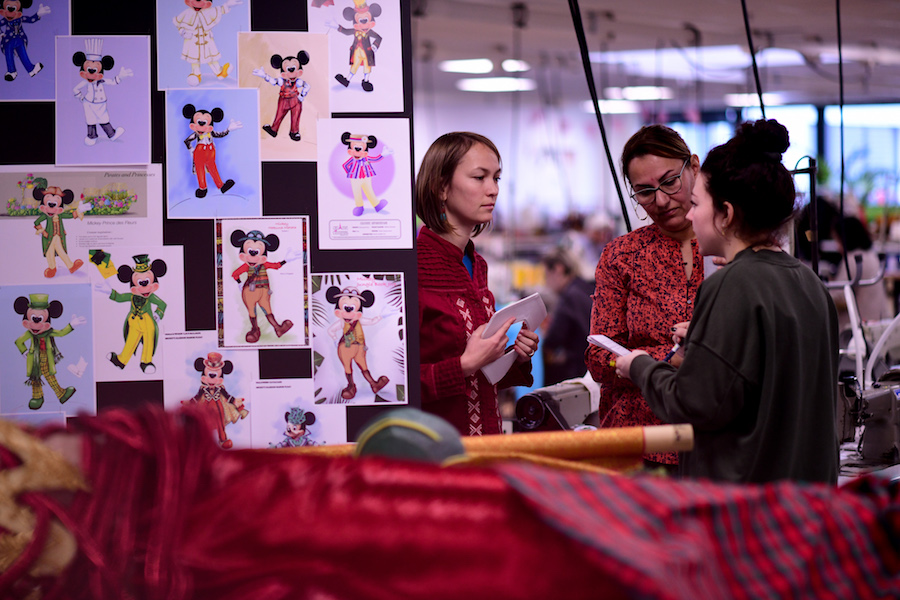 Behind the Scenes of the Disneyland Paris Costuming Department