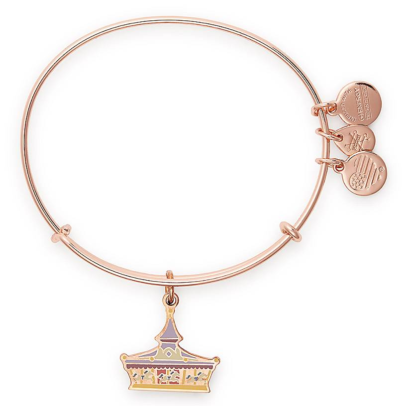 Disney Parks Life Collection Alex and Ani rose gold bangles