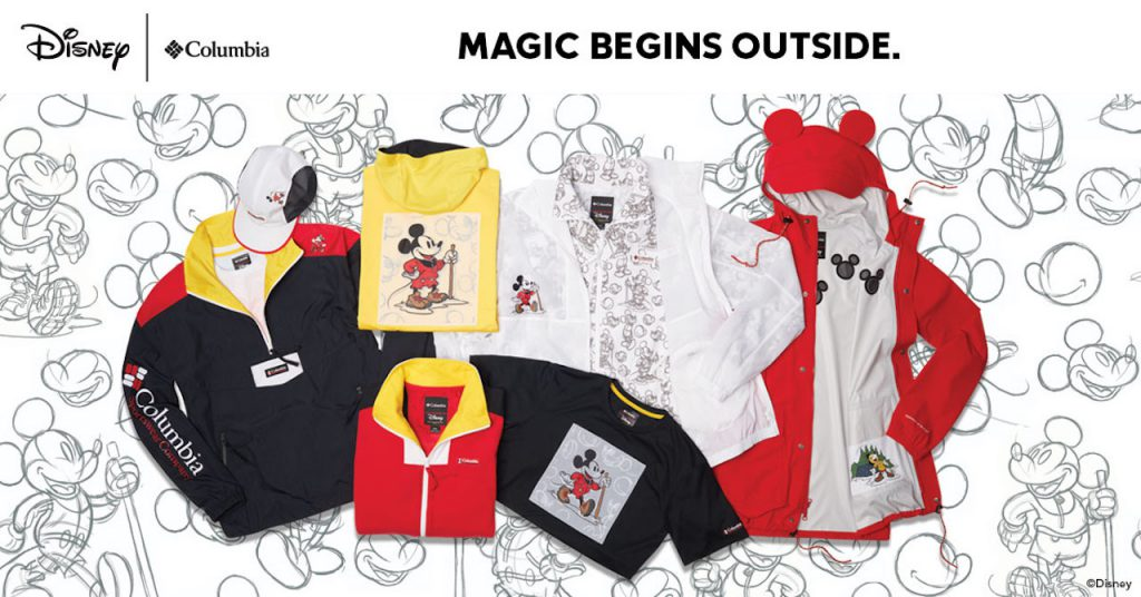 Draw Up An Adventure with the New Disney x Columbia Collection Now Available at Disney Springs