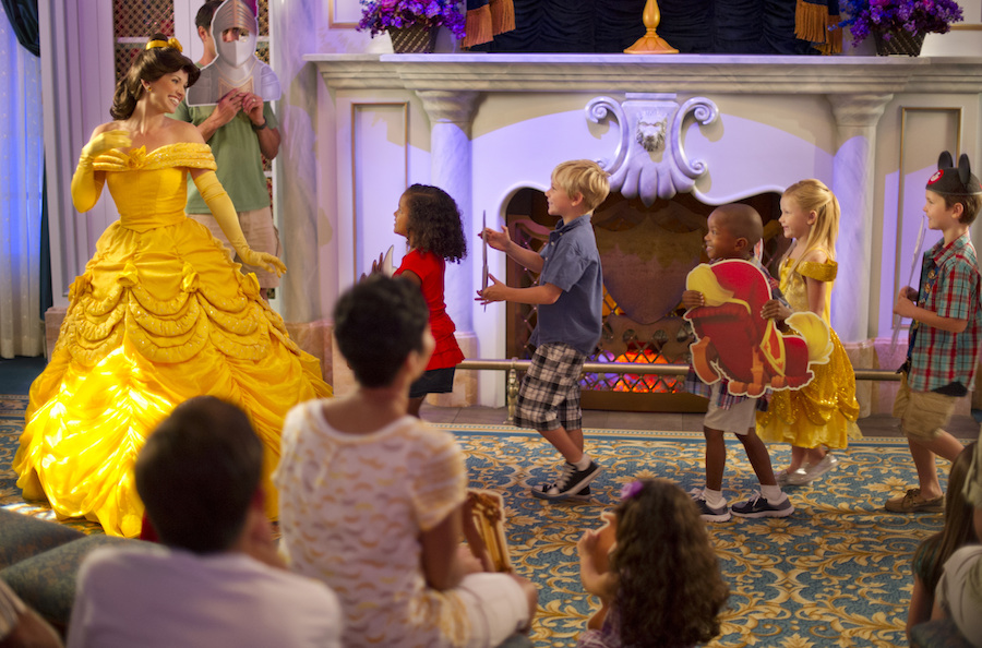 New Fantasyland Guests Enjoy 'A Tale as Old as Time' at Enchanted Tales with Belle