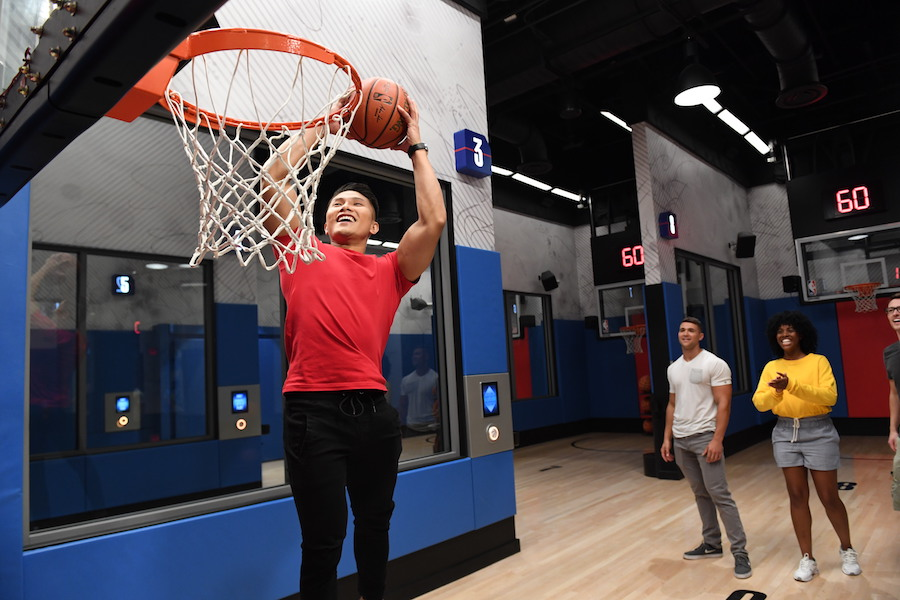 Find Your #HappyPlace: Find the Basketball Superstar in You at NBA Experience