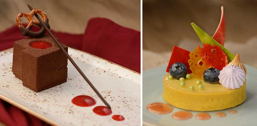 Offerings from Decadent Delights for the 2020 Epcot International Festival of the Arts