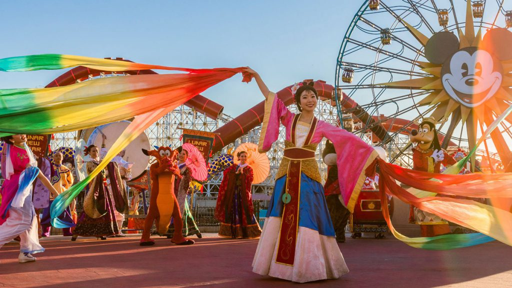 Starting Today, Celebrate the Year of the Mouse During Lunar New Year at Disney California Adventure Park