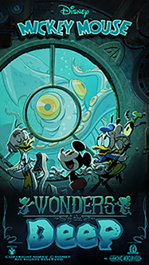 New 'Wonders of Deep' Poster Unveiled in Countdown Series to Opening of Mickey & Minnie's Runaway Railway on March 4