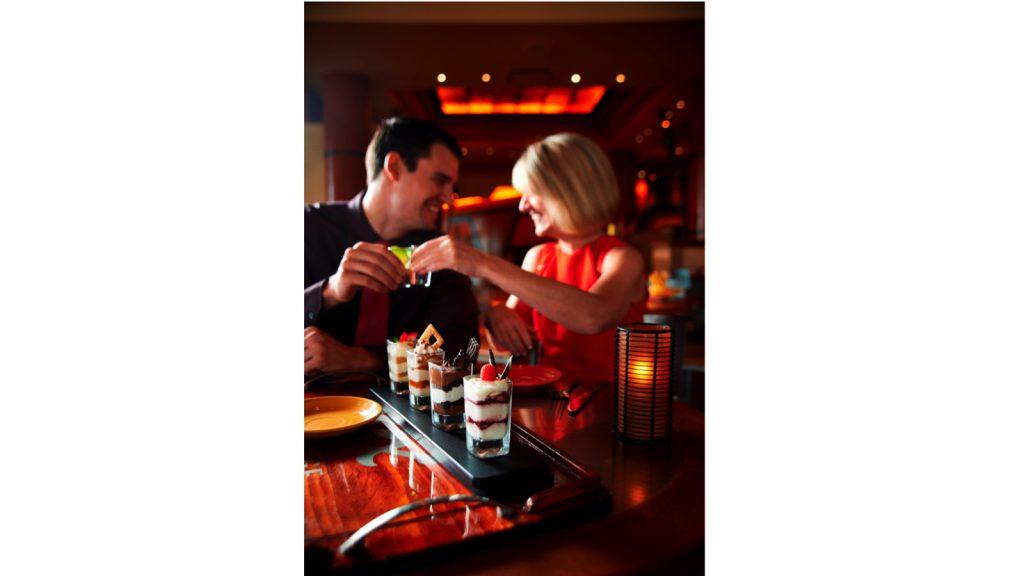 Couple eating at Maya Grill at Disney's Coronado Springs Resort