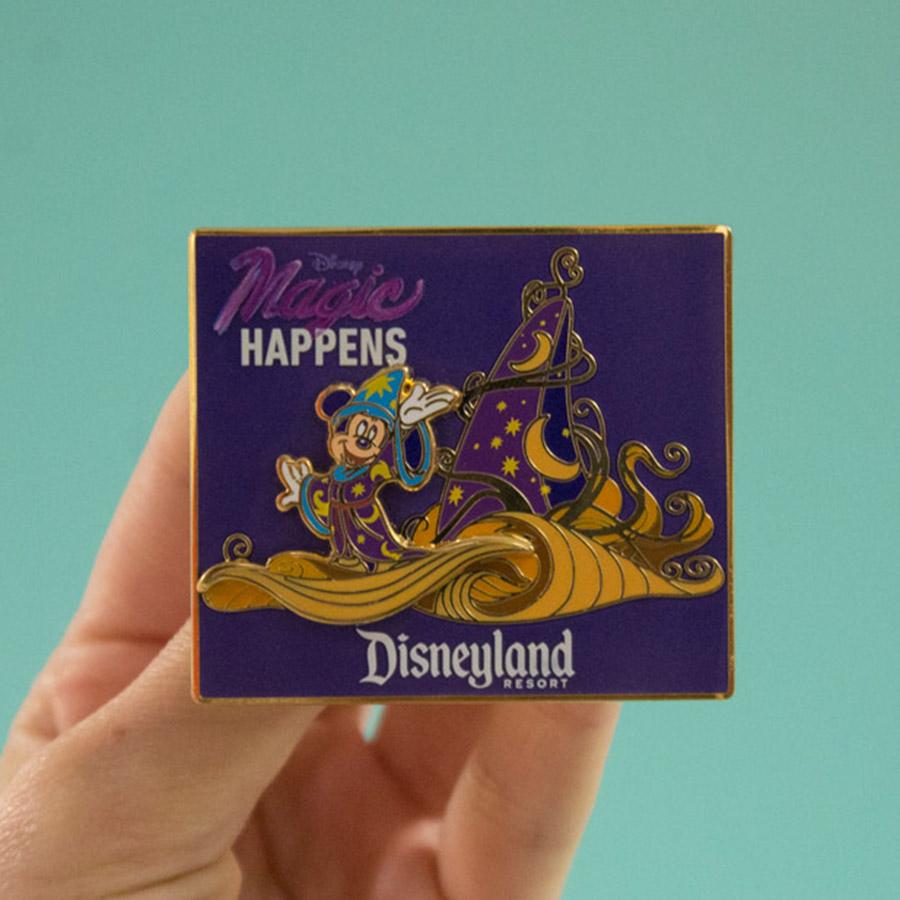 """""""Magic Happens"""" pin"""