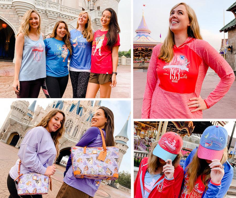 An Enchanting Set of Merchandise for the 2020 Disney Princess Half Marathon Weekend