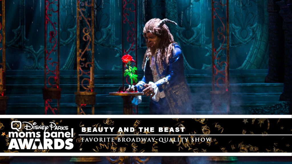 'Beauty and the Beast' show on Disney Cruise Line