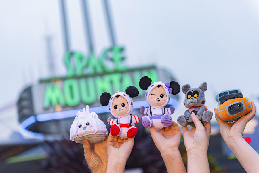 Newest Wishables Collection Inspired by Disney Parks Classic Space Mountain Available Now