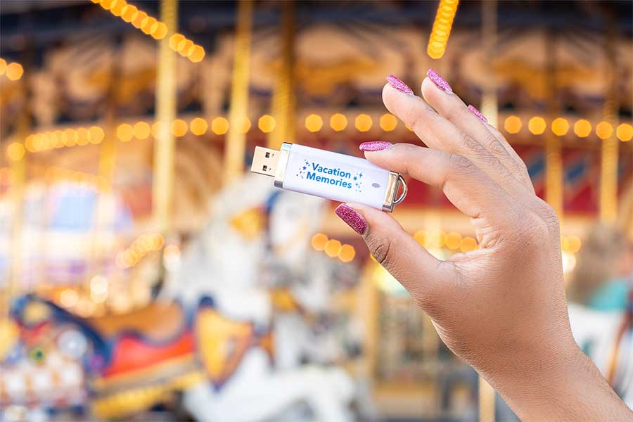 Easily Access, Store All of Your Magical Walt Disney World Resort Memories with the Disney PhotoPass Archive USB