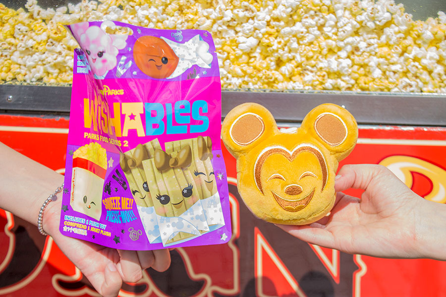 Celebrate Your Love of Snackin' at Disney Parks with the Newest Wishables Collection of Classic Snack Foods