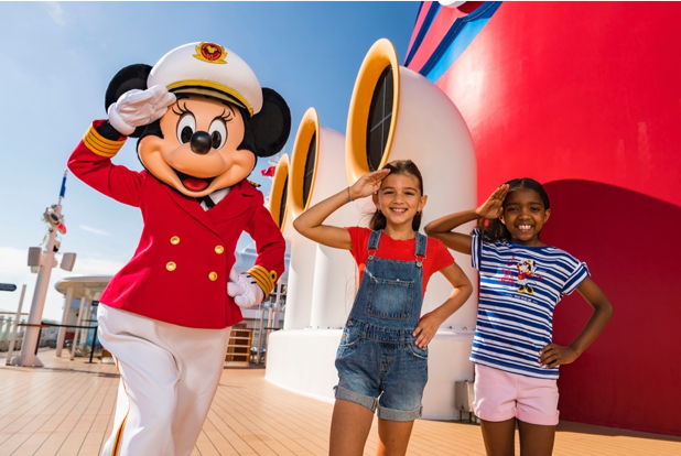 A Salute to Captain Minnie Mouse