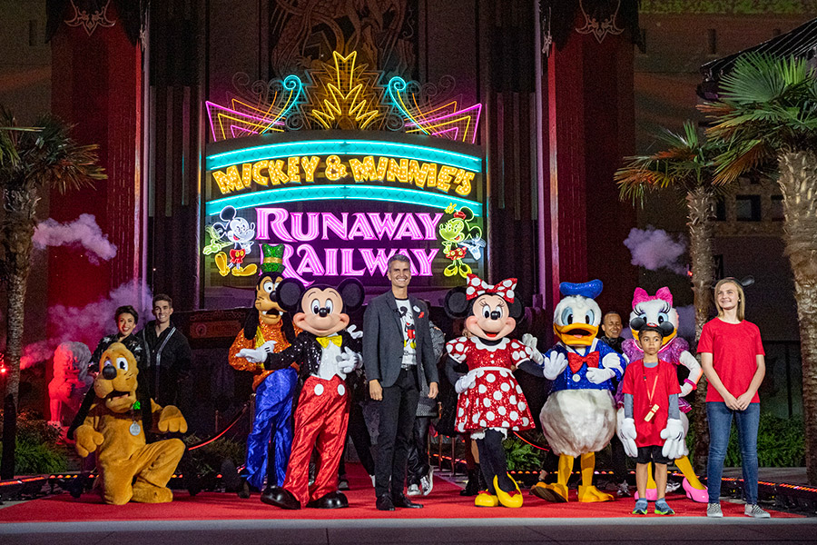 Mickey, Minnie and Pals Celebrate the Grand Opening of Mickey & Minnie's Runaway Railway at Disney's Hollywood Studios