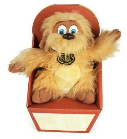 1985 The Black Cauldron Gurgi Plush