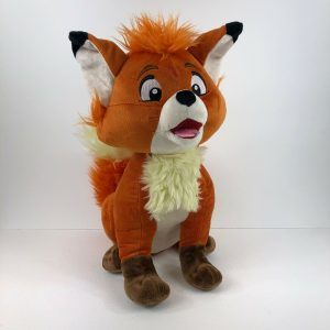 Disney Store Tod Soft Toy Fox and the Hound