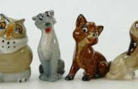 Wade Disney Fox and The Hound Figures