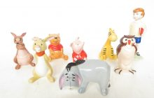Walt Disney Beswick Winnie the Pooh ceramic group