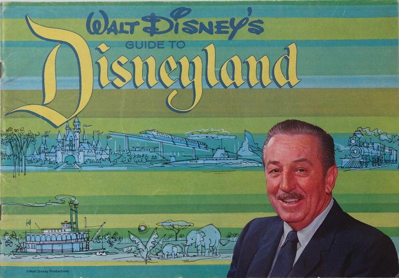 Walt Disney's Guide To Disneyland 1964 Souvenir Guide Book