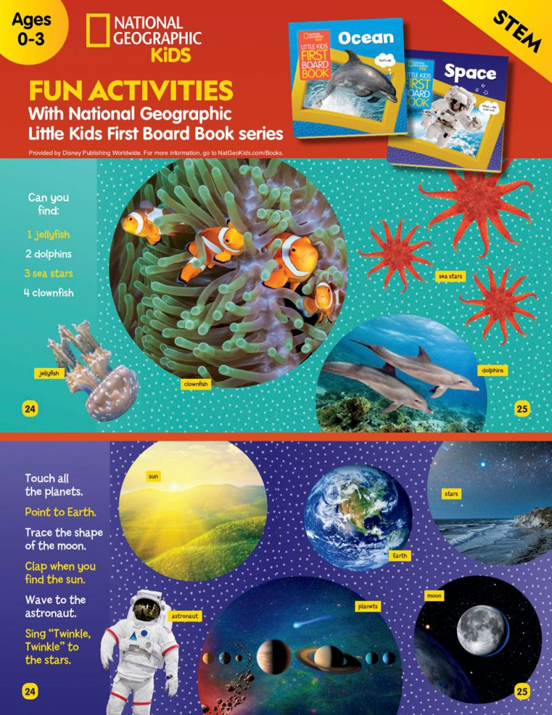 #DisneyMagicMoments: Let's Stay Sharp: Disney, Pixar, National Geographic Activity Sheets