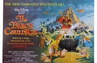 the black cauldron uk quad poster