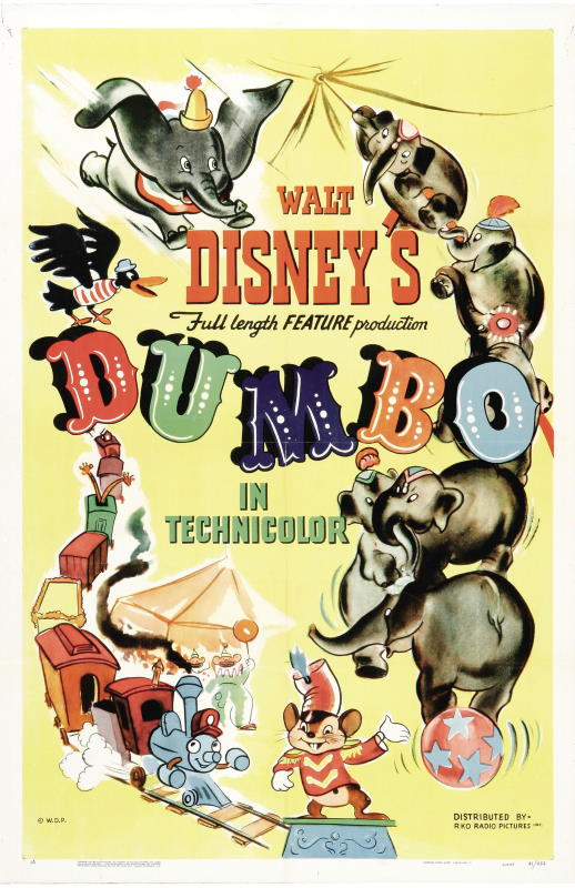 Dumbo 1941 One Sheet original theatrical poster