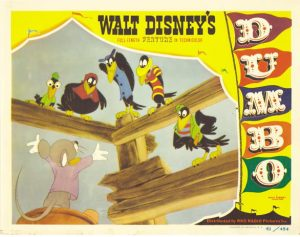 Dumbo RKO 1941 Lobby Card the crows