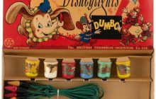 Vintage Dumbo Disneylights by Mazda open box