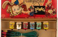 Vintage Dumbo Disneylights by Mazda open box